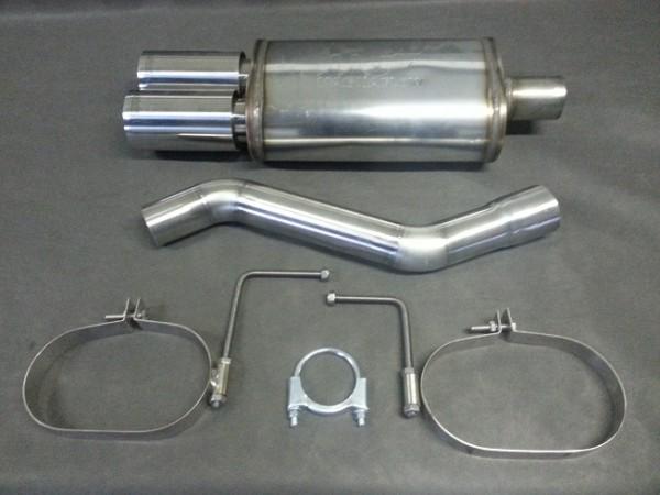 Magnaflow Endschalldämpfer BMW E46 316i 318i 316Ci 318Ci