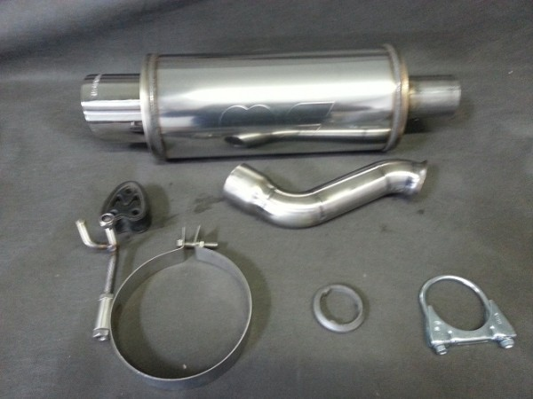 Magnaflow Endschalldämpfer Peugeot 206