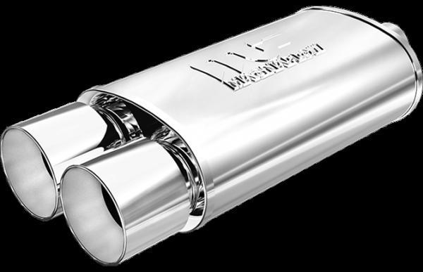 Magnaflow Universal Endschalldämpfer - 2x100mm mit ABE